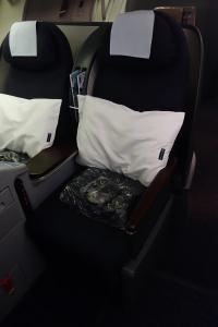 My seat, 15B