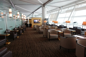 Seating in SilverKris lounge