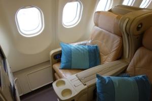 My seat, 15K