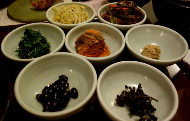 Delicious banchan