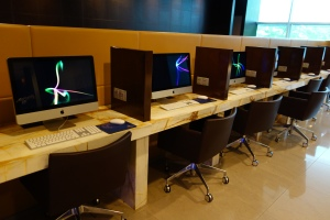 iMac work stations (they also had PCs)
