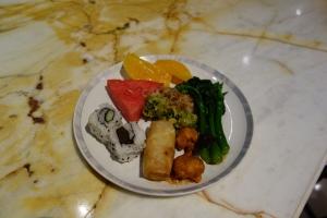 A sampling of the food