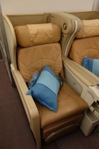 My seat, 16F