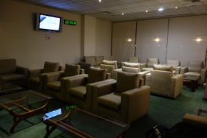 Seating in the Lotus Lounge