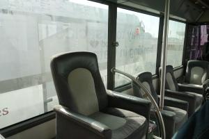 A more premium bus experience