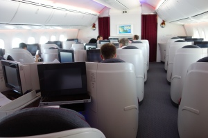 Business/First Class cabin