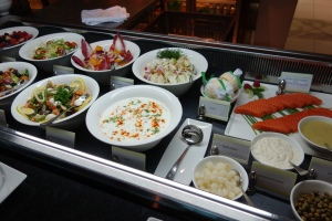 Buffet items