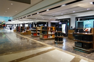 Duty free shopping, just for First Class passengers