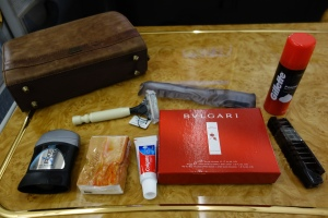 Contents of amenity kit