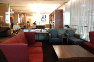 Lounge + bar area