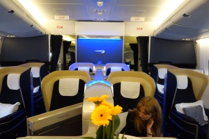 More views of first class cabin