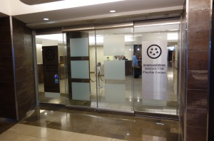 Entrance to the Admirals Club