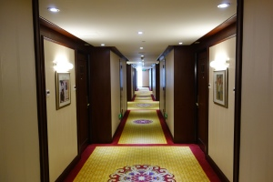 Gaudy hallway