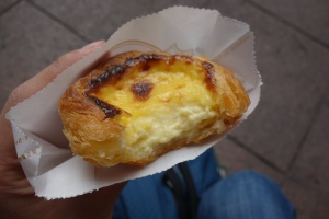 The perfect egg tart?