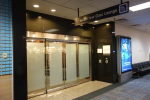 Entrance to the lounge, near the end of the C terminal around gate C2