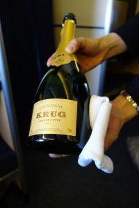 I'm not a big drinker, but I couldn't say no to a glass of Krug
