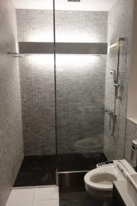 Shower room with Shiseido amenities provided