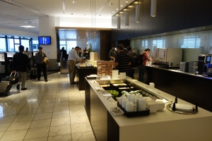 Buffet in business side