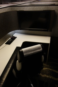 Personal cubicle in Suite Lounge