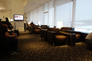 Seating in Suite Lounge (once it got much less crowded)