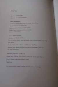 Food menu part 1