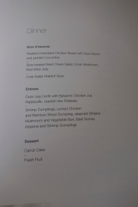 Food menu part 2