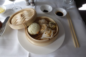 Dumplings as my appetizer