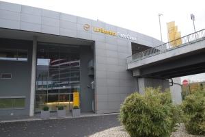 Lufthansa's First Class Terminal
