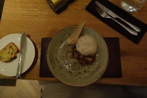Forest mushroom porridge