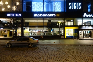 The 24-hours McDonald's