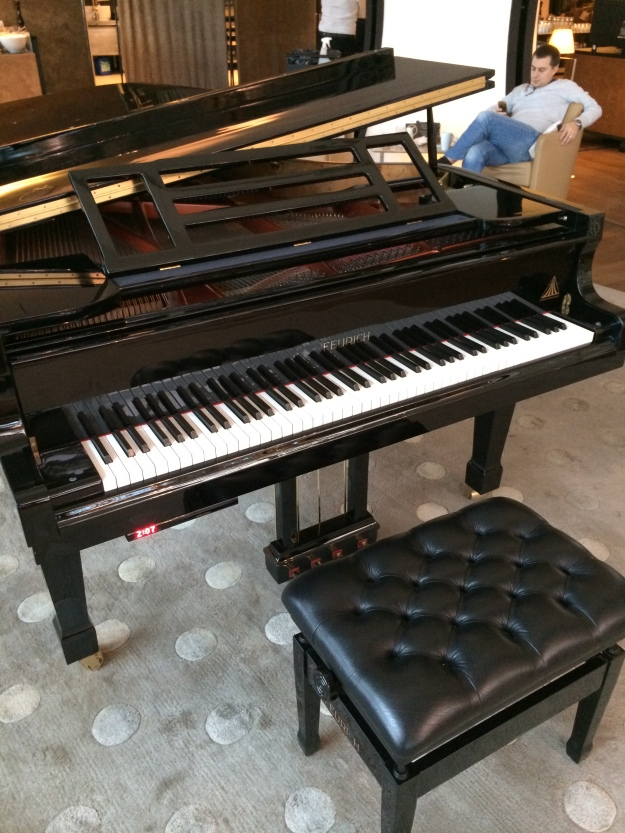 Self-playing piano