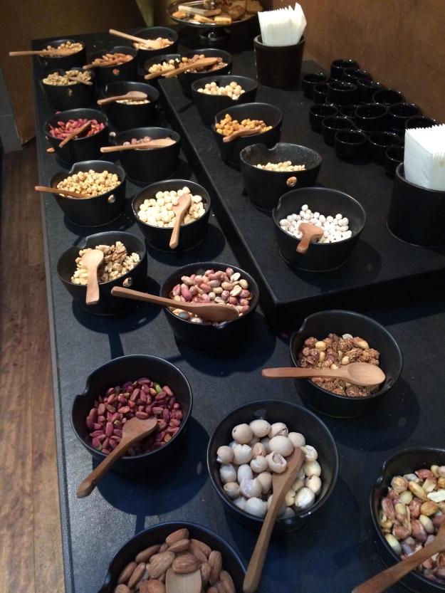 Nuts buffet