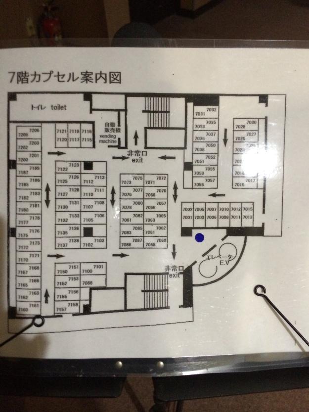 7th floor map