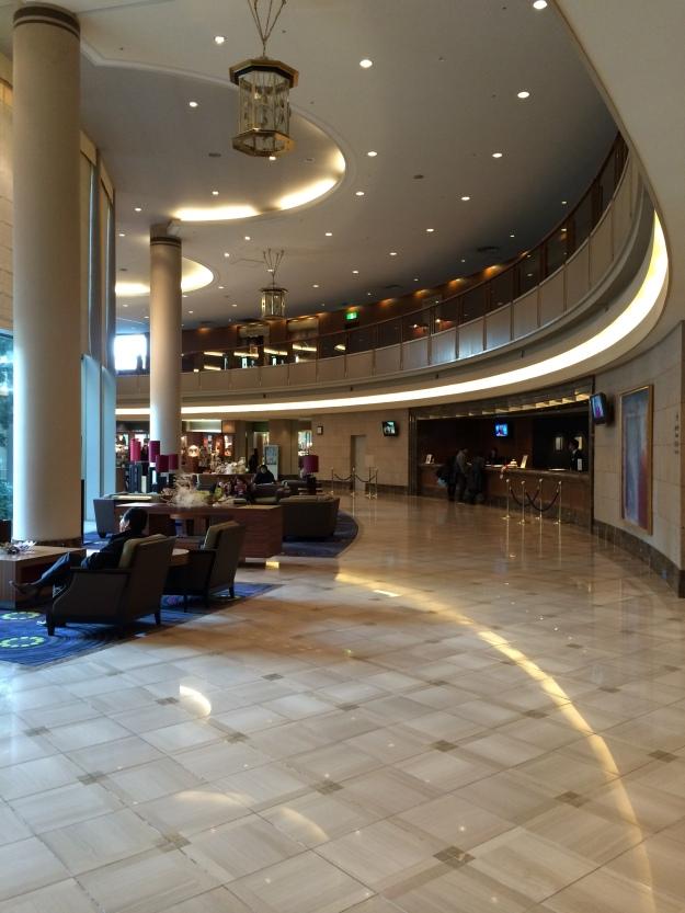 Hilton Narita lobby