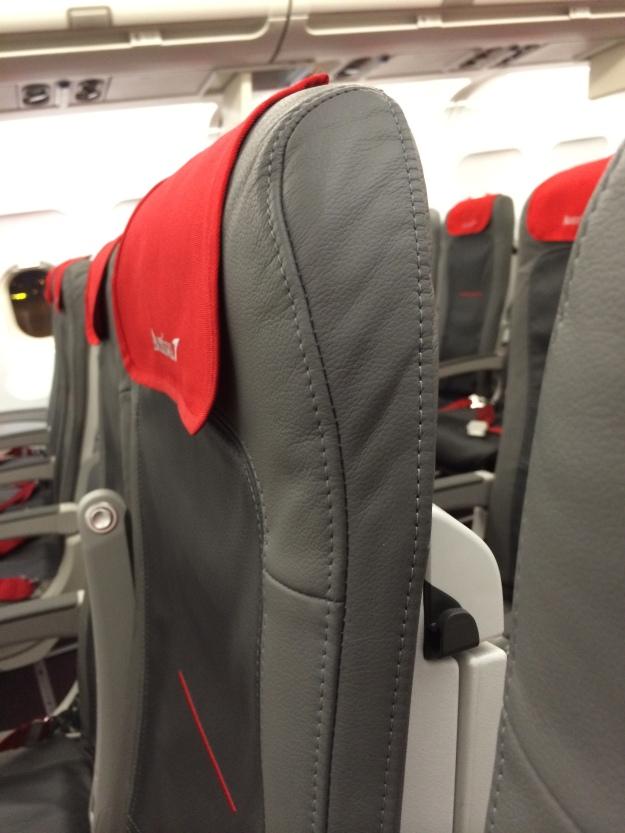 Slimline seats