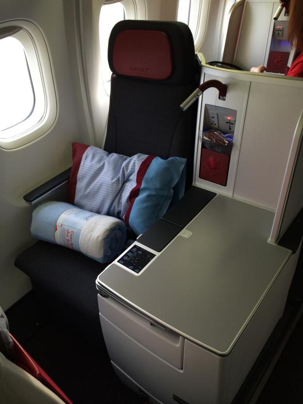 My seat, 3K