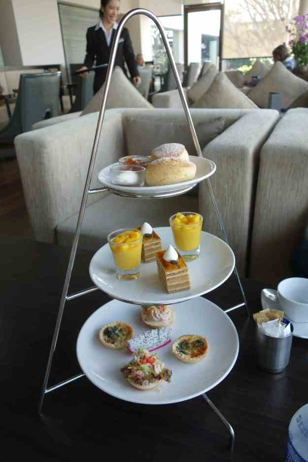 Afternoon tea in the lounge