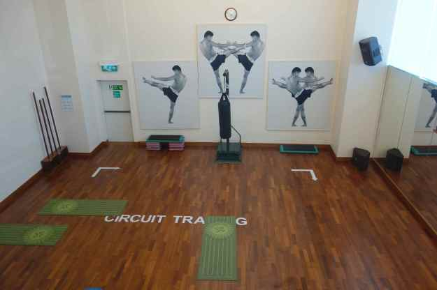 Multi-purpose room in the gym