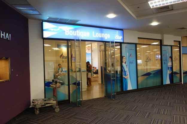 Bangkok Airways Lounge at CNX
