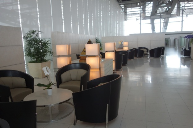 Seating in Thai First Class check-in