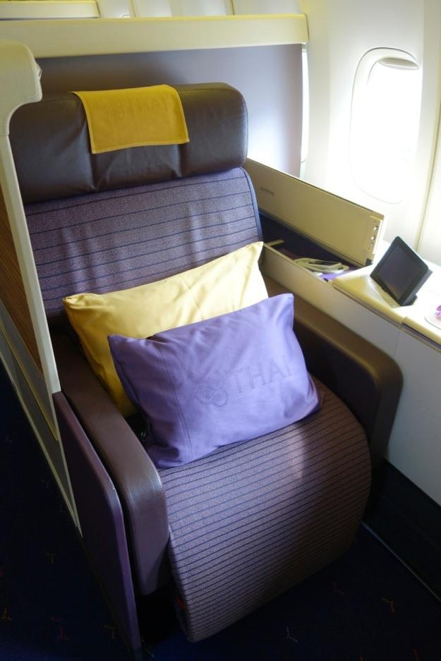 My seat, 1A