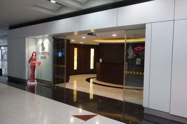 Singapore Airlines lounge entrance